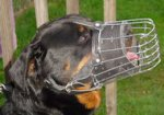 Rottweiler Wire Dog Muzzle-Cage Dog Muzzle For Rottweiler