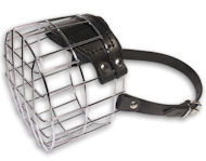 Large Dog Wire Muzzle-Cage Basket Dog Muzzle