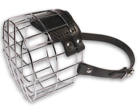 Everyday Wire Cage Dog Muzzle-Wire Cage Dog Muzzle