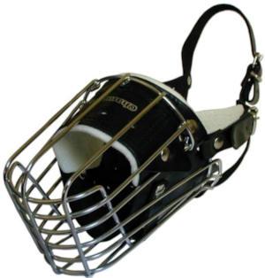 German Shepherd wire basker dog muzzle FULL PADDED