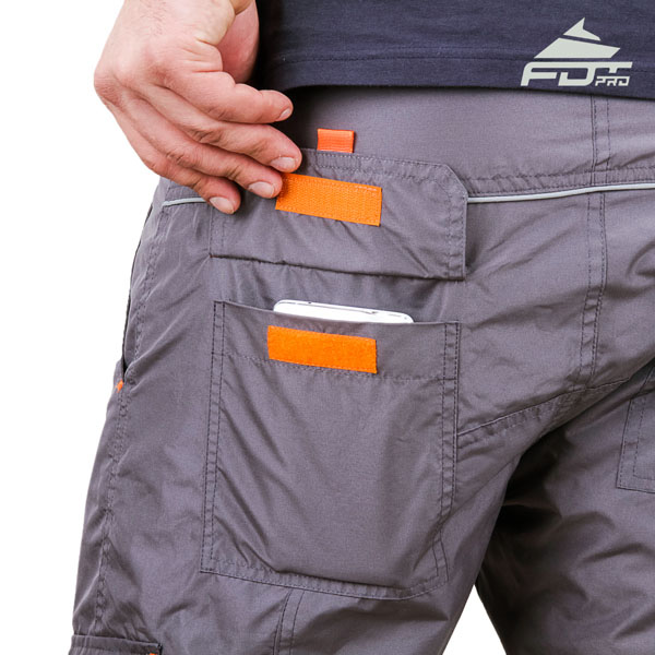 Convenient Design Pro Pants with Handy Side Pockets for Dog Trainers