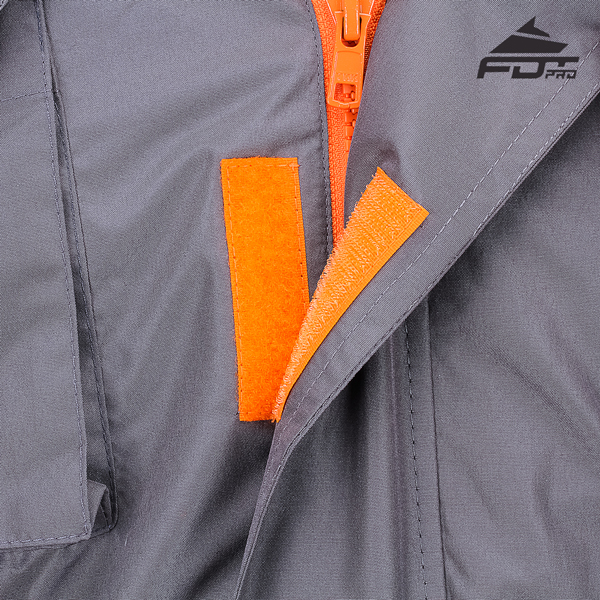 Top Rate Velcro Fastening on Dog Training Jacket for Everyday Use