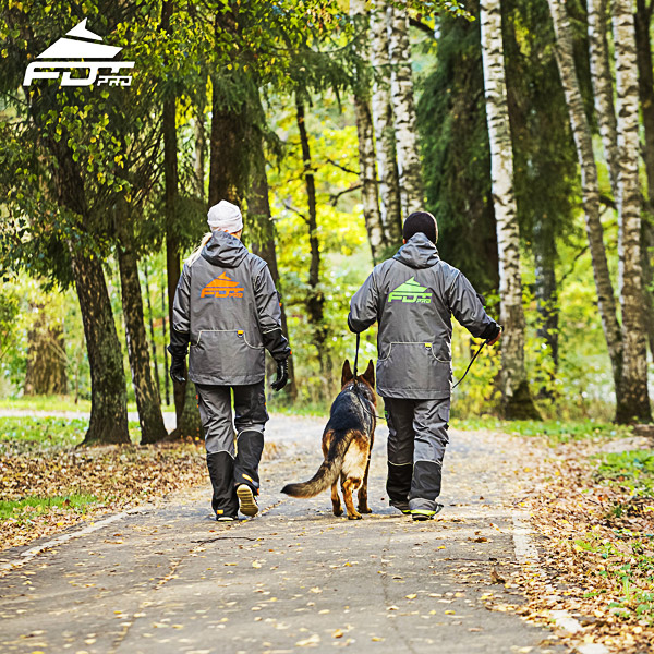 Pro Dog Training Jacket of Best Quality for Any Weather Use