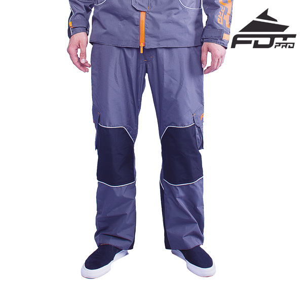 Professional Pants Grey Color for All Weather Use