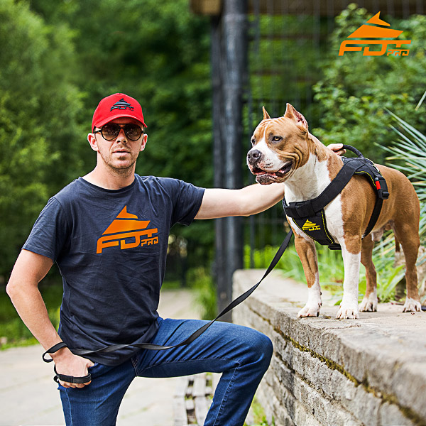 Men T-shirt of Best Quality Cotton with FDT Pro Logo for Dog Trainers