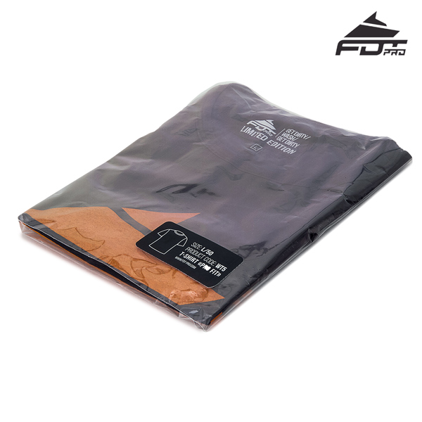 Filled FDT Pro Design T-shirt of Dark Grey
