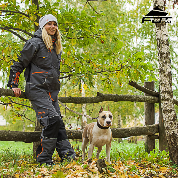 Unisex Design Active Dog Trainers FDT Pro Pants with Side Pockets