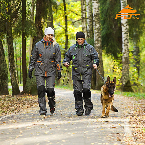 Any Weather Use Top Rate Dog Training Suit for Men and Women