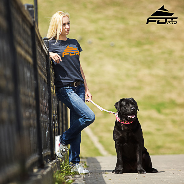 Women T-shirt of Finest Quality Cotton for Dog Trainers